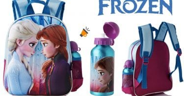 oferta mochila infantil frozen barata SuperChollos