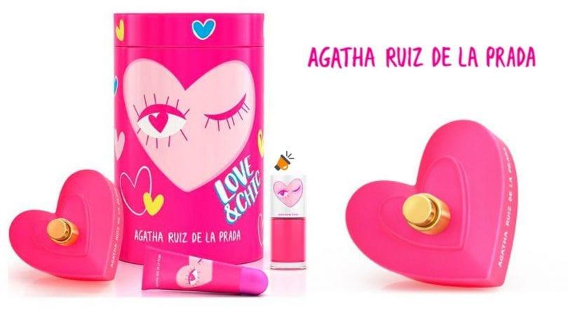 oferta Estuche LoveChic Agatha Ruiz de la Prada barato SuperChollos