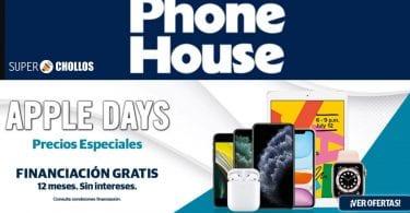ofertas APPLE DAYS phone house SuperChollos