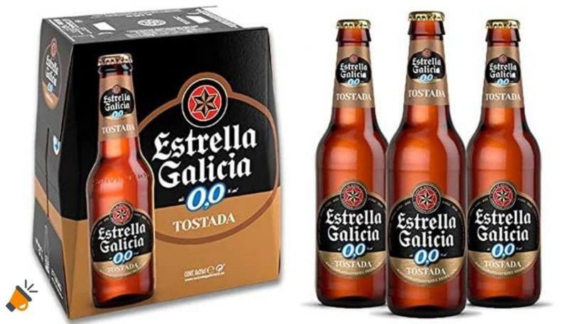 oferta estrella galicia 0 0 tostada barata SuperChollos