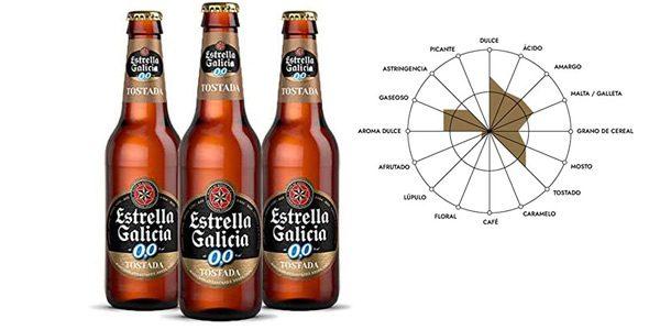Cervezas Estrella Galicia 00 Tostada barata SuperChollos
