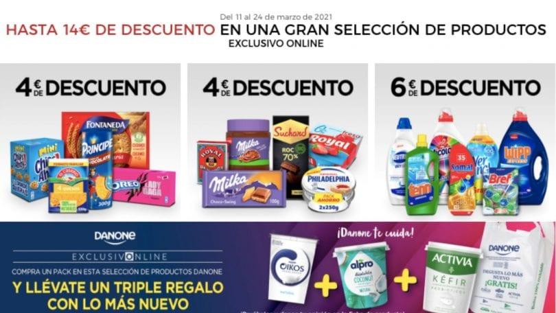 supermercado corte ingles 14 euros gratis SuperChollos