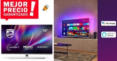 oferta Philips Ambilight 58PUS8505 barata SuperChollos