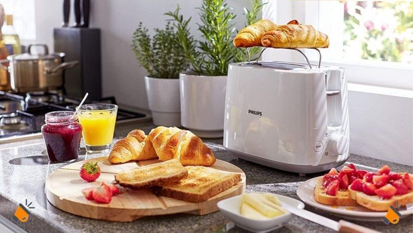 oferta tostador Philips Daily HD2581 barato SuperChollos