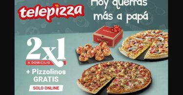 telepizza pizzolinis gratis SuperChollos