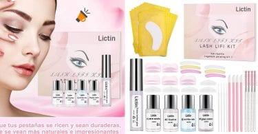 oferta Lictin Kit de Permanente de Pestan%CC%83as barato SuperChollos