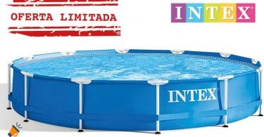 OFERTA Piscina Intex Metal Frame barata SuperChollos