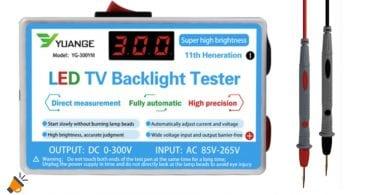 oferta Probador retroiluminacio%CC%81n TV barato SuperChollos