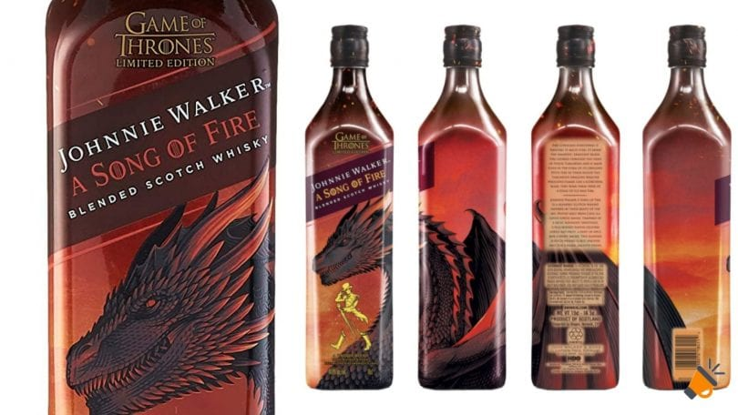 oferta Johnnie Walker Song of Fire barato SuperChollos