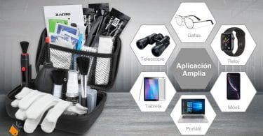 oferta kit limpieza ca%CC%81maras Zacro barato SuperChollos