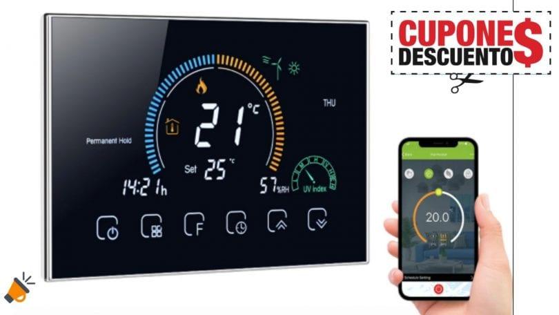 oferta termostato programable wifi barato SuperChollos