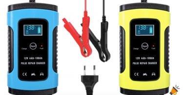 oferta cargador bateria coche barato SuperChollos