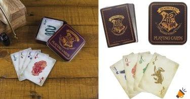 oferta baraja cartas harry potter SuperChollos