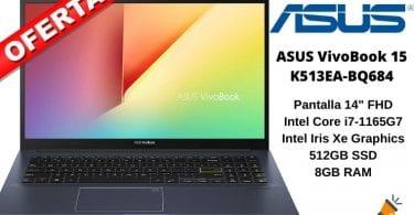 oferta ASUS VivoBook 15 K513EA BQ684 barata SuperChollos