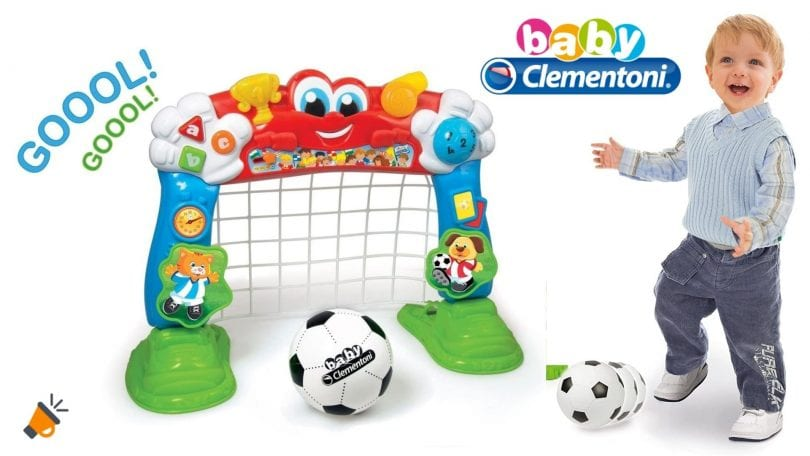 oferta Baby Clementoni porteria interactiva barata SuperChollos