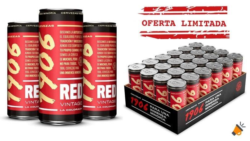 oferta cerveza 1906 red vintage barata SuperChollos