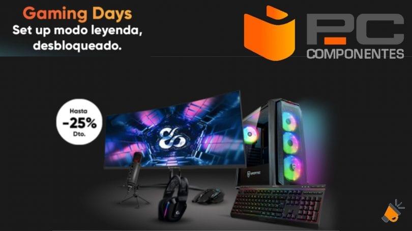 ofertas Gaming Days de PcComponentes SuperChollos