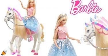 oferta Barbie Princess Adventures caballo barata SuperChollos