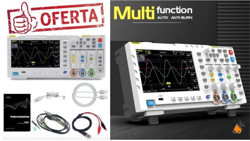 ofertta osciloscopio FNIRSI 1014D barato SuperChollos