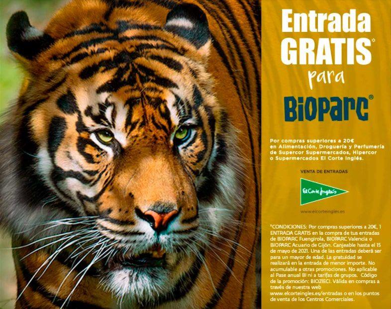 Entrada GRATIS Bioparc SuperChollos
