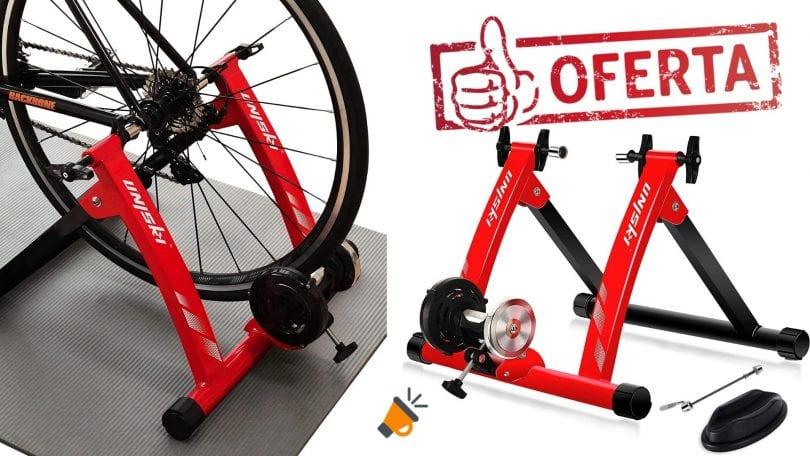 oferta rodillo magnetico ciclismo Unisky barato SuperChollos