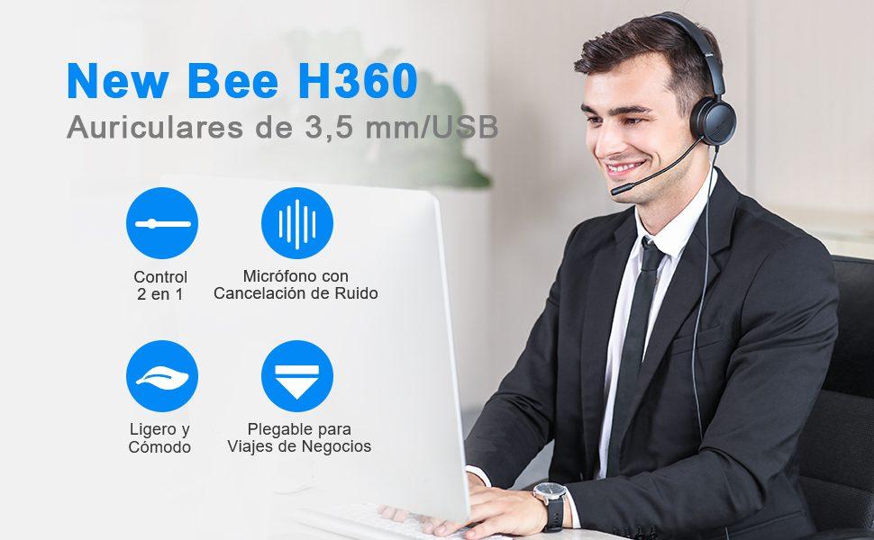 Auriculares New Bee H360 barato SuperChollos