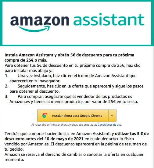amazon assistant SuperChollos