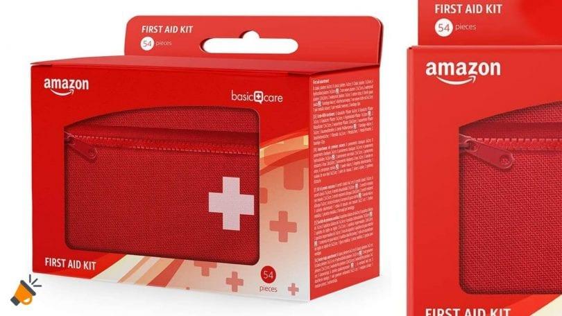 oferta amazon basic care kit primeros auxilios barato SuperChollos