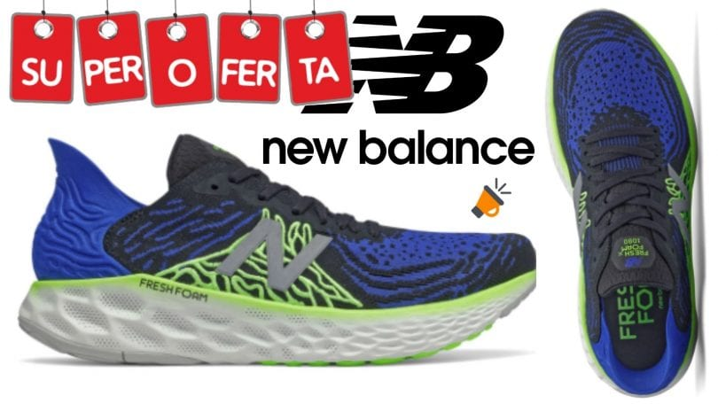 oferta New Balance Fresh Foam 1080v10 baratas SuperChollos