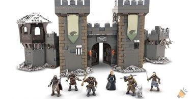 oferta Mega Construx castillo invernalia barato SuperChollos