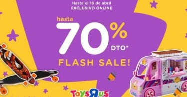 oferta Flash Sale de ToysRus SuperChollos