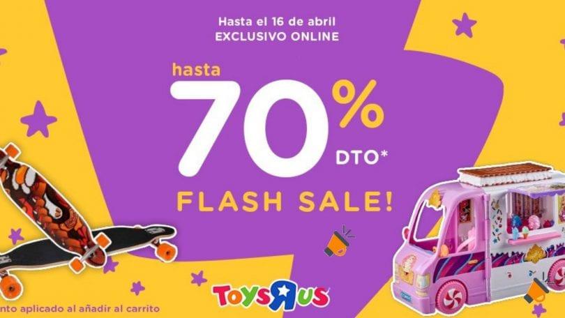 oferta Flash Sale de ToysRus SuperChollos