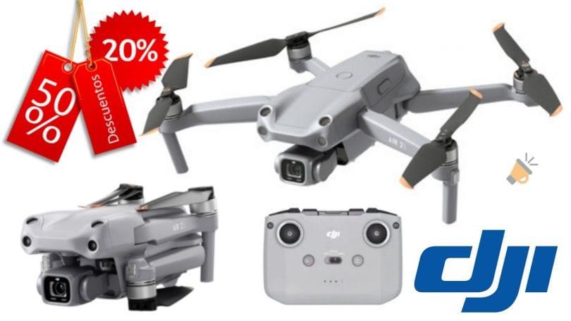 oferta DJI Mavic AIR 2S barato SuperChollos