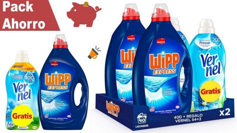 oferta wipp express detergente liquido barato SuperChollos