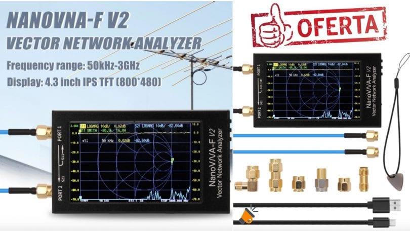 oferta Nanovna V2 Analizador de redes barato SuperChollos