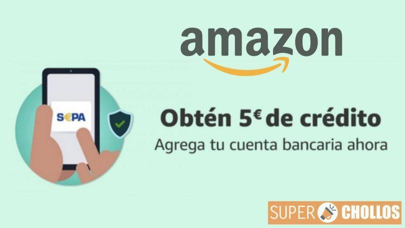 oferta amazon cuenta bancaria SuperChollos