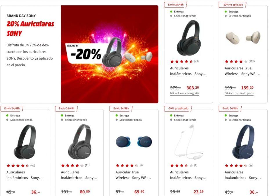 Ofertas Sony en MediaMarkt3 SuperChollos