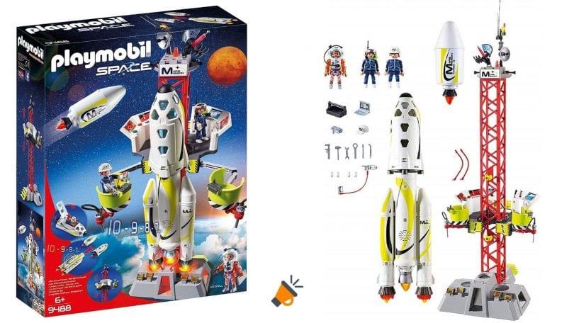 oferta cohete space playmobil barato SuperChollos