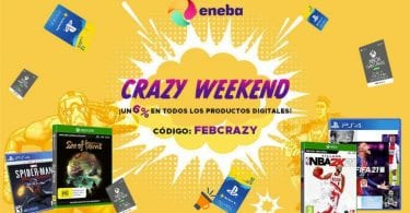 eneba crazy weekend SuperChollos