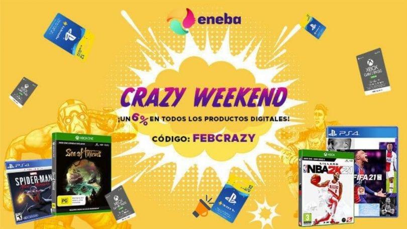 eneba crazy weekend SuperChollos