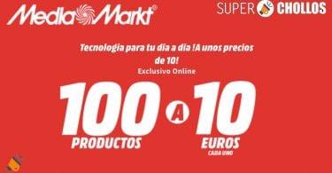 mediamarkt productos 10 euros SuperChollos