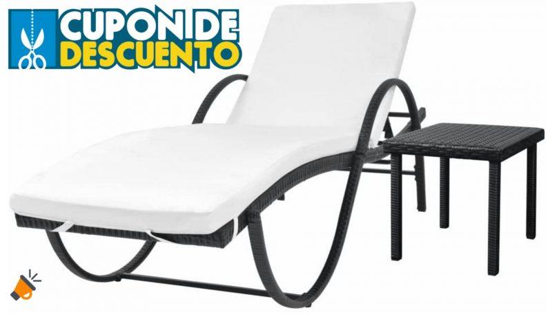 oferta Tumbona reclinable Ksodgun barata SuperChollos