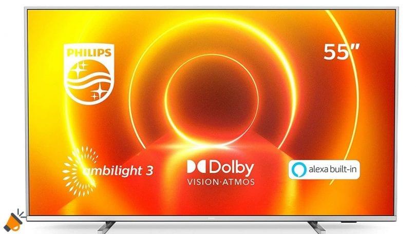 oferta Philips 55PUS7855 barata SuperChollos