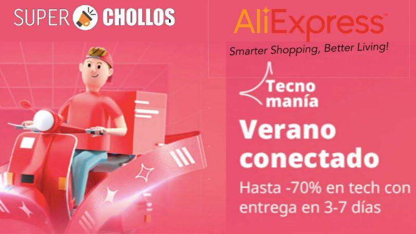 oferta Techmania en AliExpress SuperChollos