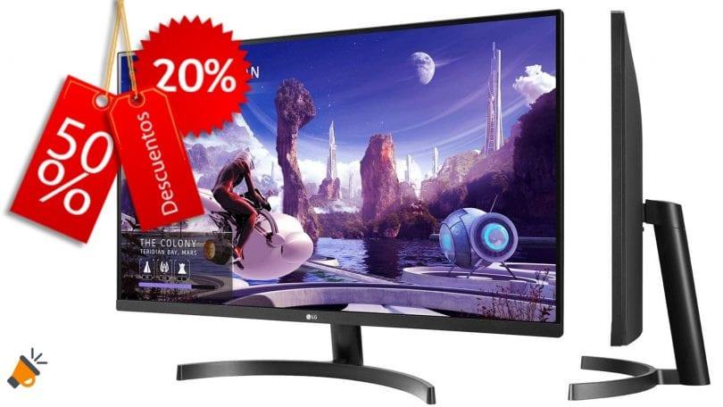 oferta LG 32Qn600 barato SuperChollos