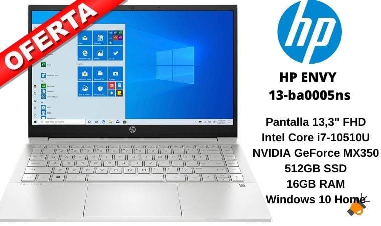 oferta HP ENVY 13 ba0005ns barato SuperChollos