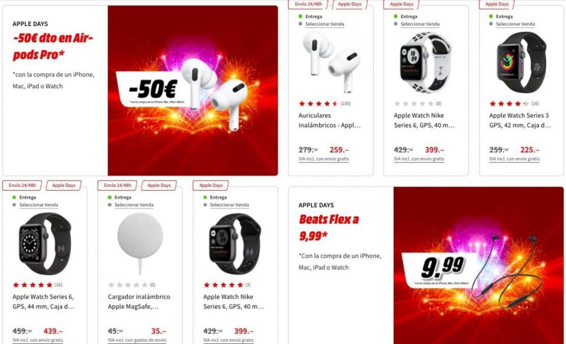 Apple Days en Media Markt1 scaled SuperChollos