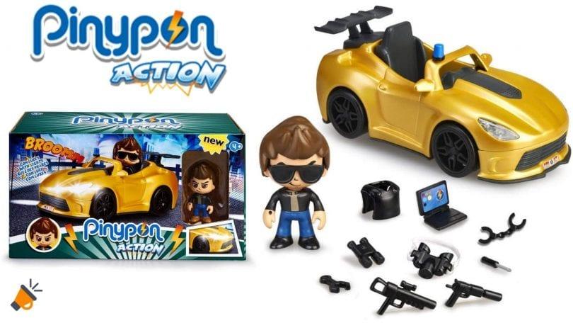 oferta pinypon action super coche barato SuperChollos