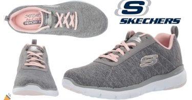 oferta Skechers Flex Appeal baratas SuperChollos