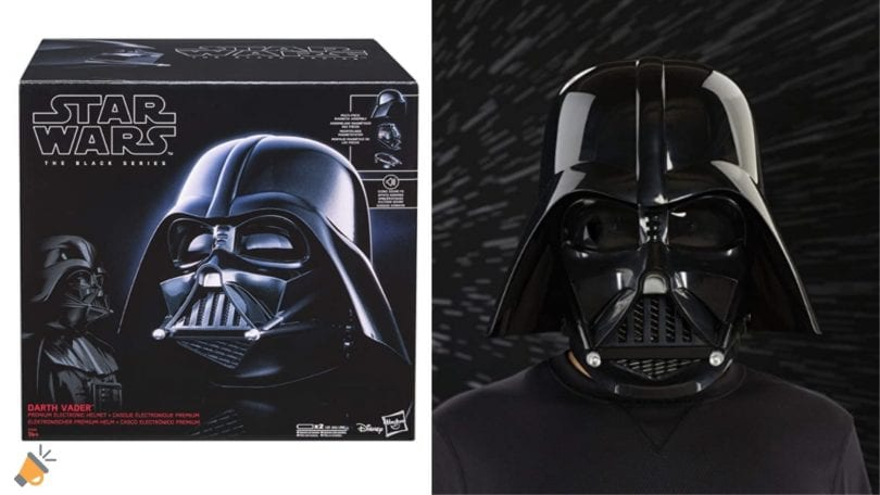 oferta Casco Electro%CC%81nico Darth Vader barato SuperChollos